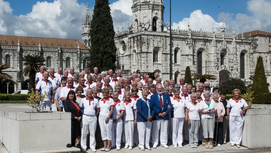 The Bowl England Tour Party At The Jeronimos Monastery, Lisbon
