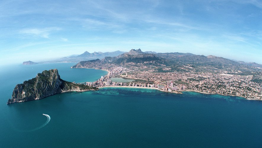 Calpe From The Air