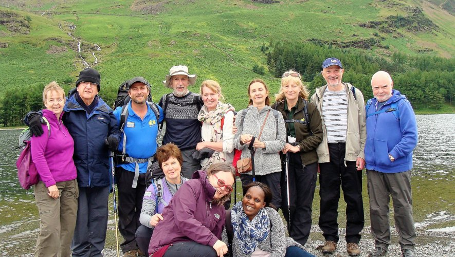 A Dementia Adventure Group On Holiday