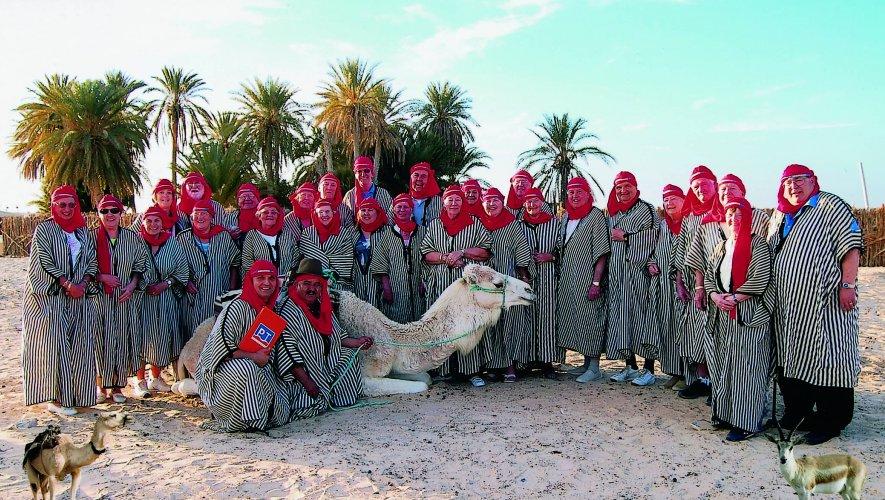 Nailsea Bowls club in the Sahara