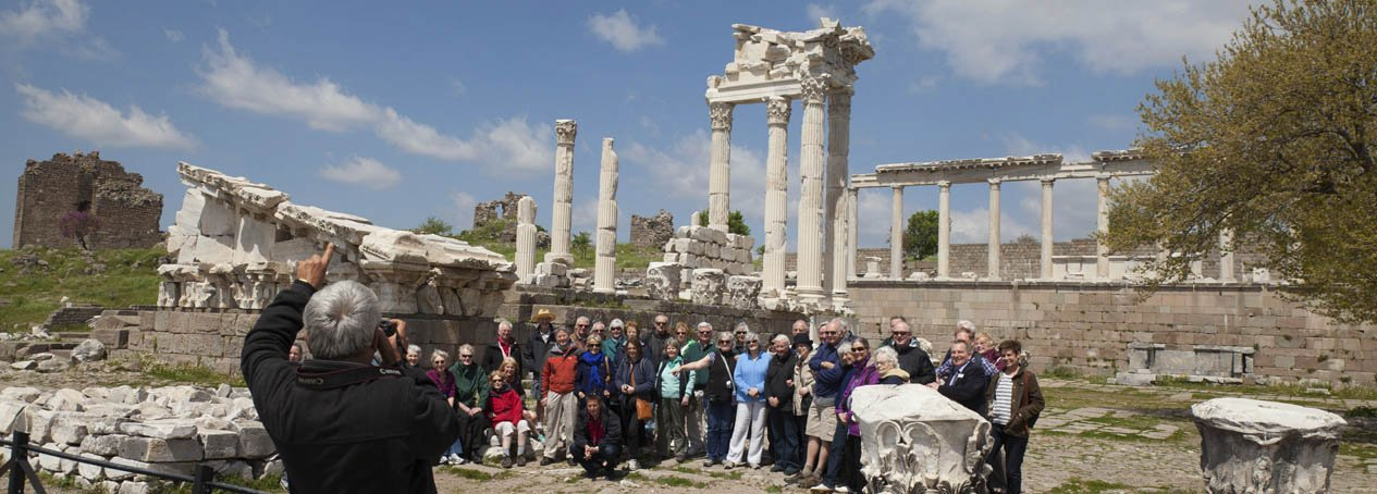 A Group At Pergamon Acropolis